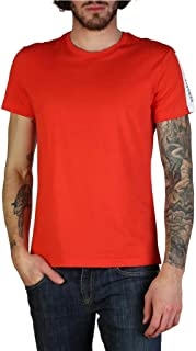 Jeans Jersey Cot Red T-Shirt