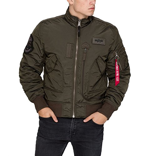 Alpha Industries Engine Veste mi-saison Rep. Grey,