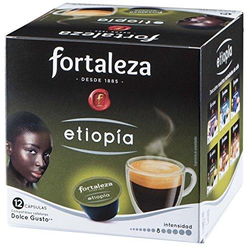 Café FORTALEZA - Cápsulas de Café Etiopia Compatibles con Dolce Gusto