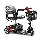 Pride Go-Go Elite Traveller Plus HD 3-Wheel Travel Mobility Scooter