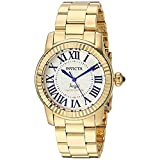 Invicta Womens Swiss Angel Gold-Plated Stainless Steel 38mm Limited Edition Watch