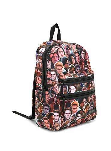 Riverdale Archie & Jughead Double Zipper Pocket Backpack