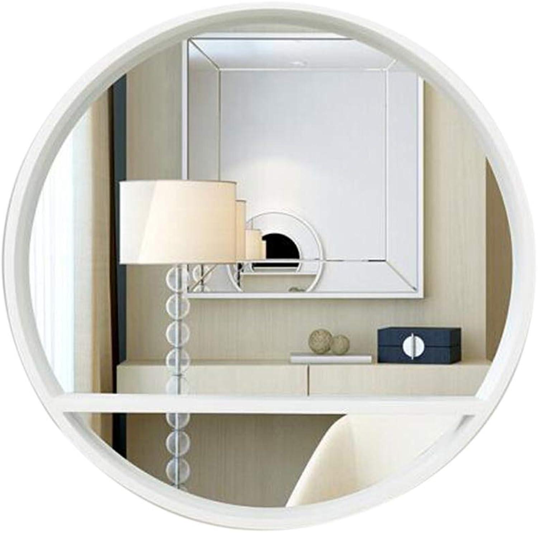 Byx- Wall-Mounted Mirror - Bathroom Vanity Mirror Wall-Mounted Modern Minimalist Bathroom Wall Mirror -Mirror (color   B)