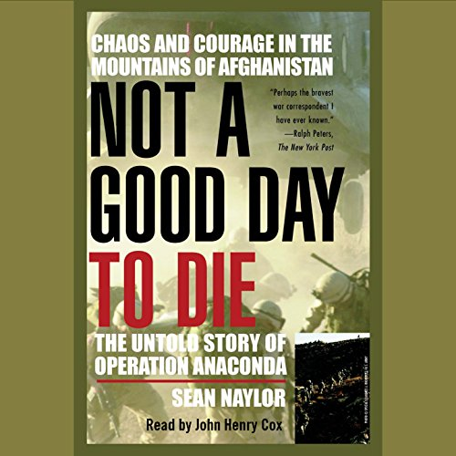 Not a Good Day to Die audiobook cover art