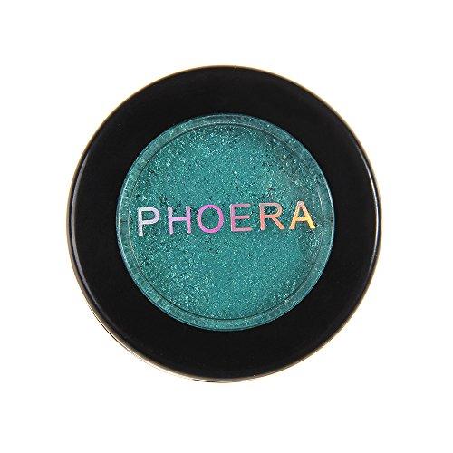 Challeng Lidschatten-Palette, Schimmern Funkeln Bilden Pulver Kosmetik Metallisch Augenschatten Palette (S)