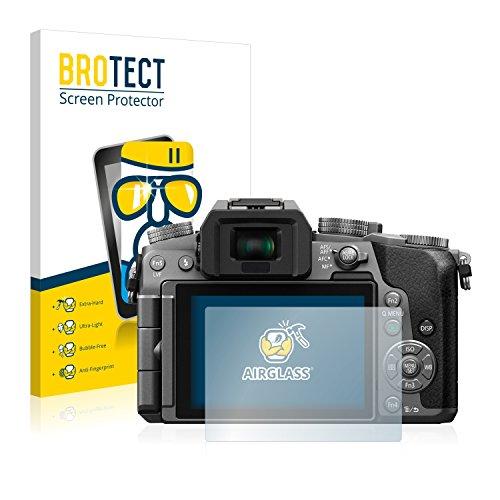 BROTECT Protector Pantalla Cristal Compatible con Panasonic Lumix DMC-G7 Protector Pantalla Vidrio...