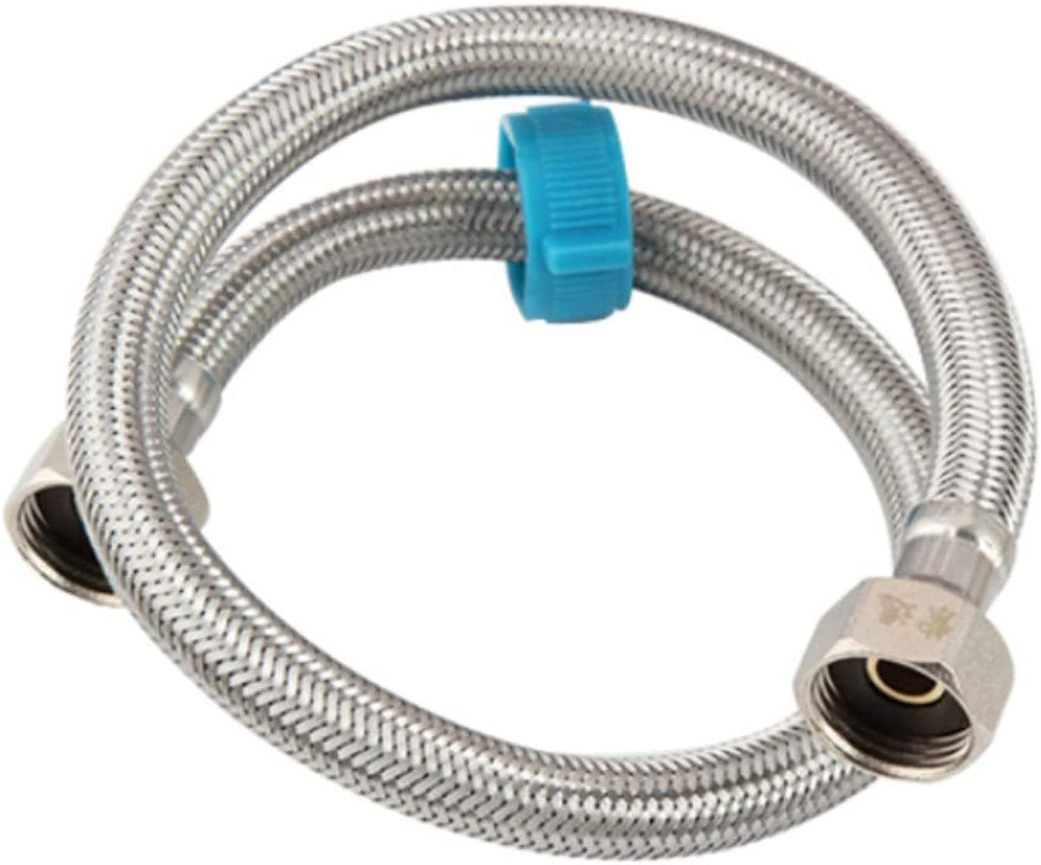 Stainless Steel Braided Hose Upper Water Inlet Hose 100cm