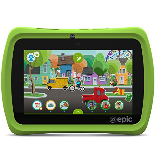 LeapFrog Epic 7' Android-based Kids Tablet 16GB, Green by Leapfrog