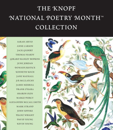 『The Knopf National Poetry Month Collection』のカバーアート