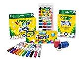 CRAYOLA 7457 - Juego de Accesorios para Dibujar y Colorear (Lavable, Muy práctico), Multicolor