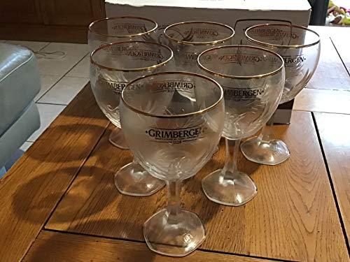 Grimbergen 2019 - Juego de 6 Vasos de Cerveza (25 cl)