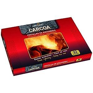 Carcoa Fuego 0304 – Pastillas de queroseno, color rojo