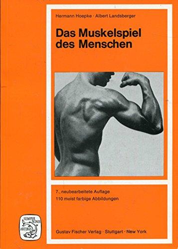 Das Muskelspiel des Menschen