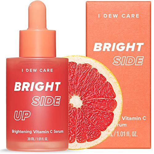 I DEW CARE Bright Side Up Brightening Vitamin C Serum | Korean Skincare, Vegan, Cruelty-free, Paraben-free