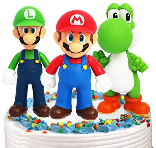 Super Mario Mini Juego de Figuras Decoración para Tartas Suministros para Fiestas...