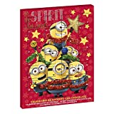 Dekora Minions Its The Spirit That Counts 2020 Chocolate con Leche Calendario de Adviento Exclusivo.