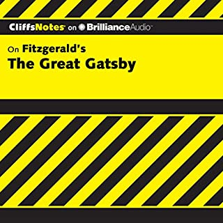 The Great Gatsby: CliffsNotes                   Written by:                                                                                                                                 Kate Maurer Ph.D.                               Narrated by:                                                                                                                                 Joyce Bean                      Length: 3 hrs and 43 mins     Not rated yet     Overall 0.0