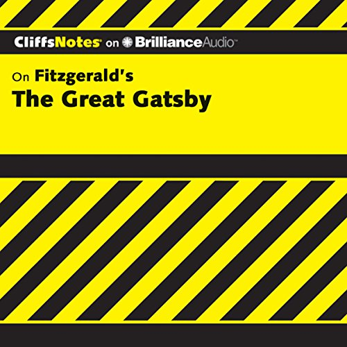 The Great Gatsby: CliffsNotes audiobook cover art