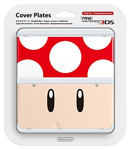 New Nintendo 3ds Cover Plates Toad Only for Nintendo New 3DS Japan Import by Nintendo