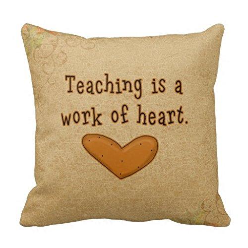 Teacher Cœur travail Couvre-lit R6913642727d04bb1b04 F880 a47911572 I5fqz 8byvr Taie d'oreiller