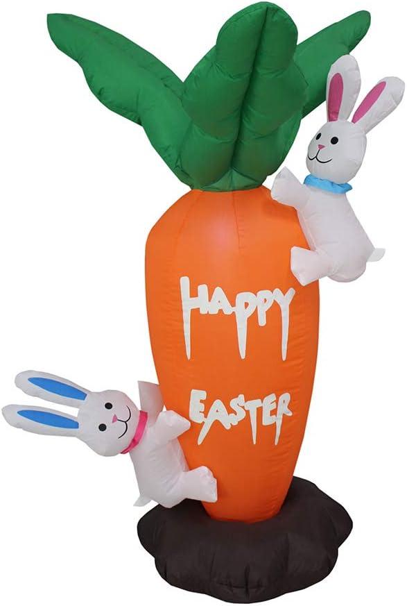 当店は最高な サービスを提供します 返品不可 Impact Canopy Inflatable Outdoor Easter Bunni Decoration