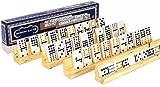 Deluxe Games and Puzzles Dominoe Tile Racks _ Bundle of 4 Racks