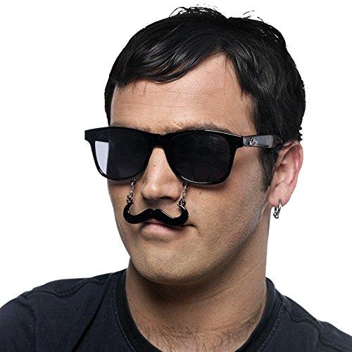 Limit Sport Lunettes avec Moustache Dalí, Taille Unique (cm952)