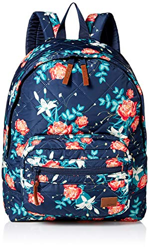 Roxy Women's Morning Light Backpack, dress blue garden lily 1SZ