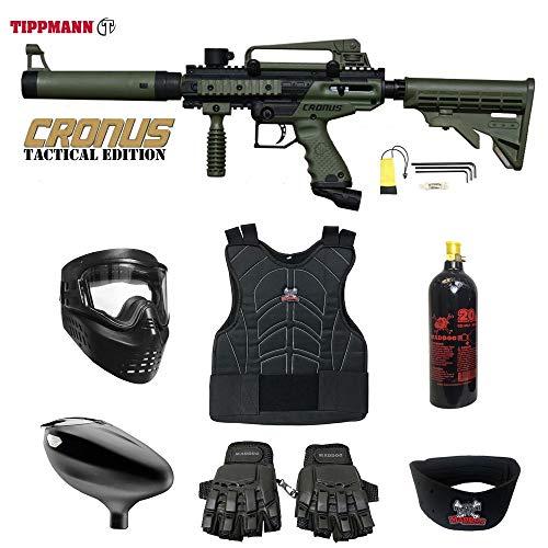 Maddog Tippmann Cronus Beginner Protective CO2 Paintball Gun Package -...