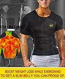 Zoom IMG-1 lazawg uomo sauna magliette allenamento