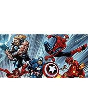 Custom 3d Foto Behang 3d Muurschildering Avengers Kinderkamer Muur Slaapkamer Jongen Achtergrond Superman Batman Spiderman