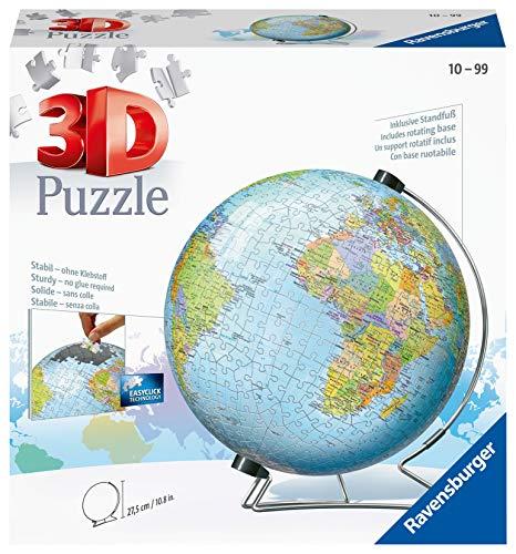 Ravensburger ラベンスバーガー 3Dパズル 540ピース 地球儀 12436