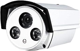Homyl HD 1200TVL Outdoor Indoor Day Waterproof Infrared 3.6mm Security Surveillance Camera, White