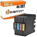 Bubprint 4 CARTUCCE PER STAMPANTE compatibile per Ricoh GC-41 KL GC41 Set XXL