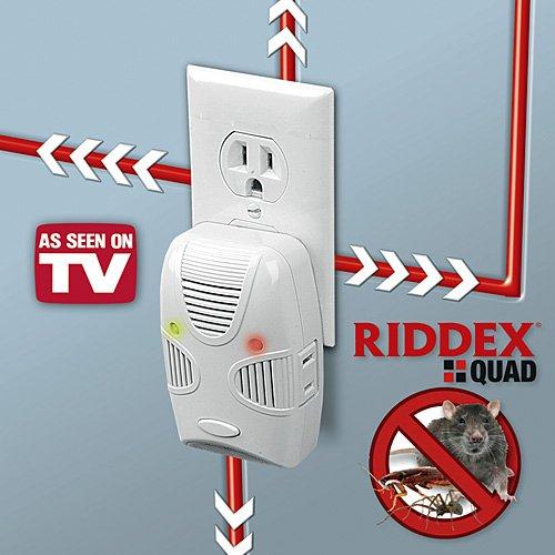Riddex Quad - Repelente de plagas de nueva generación, como se ve en la televisión