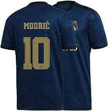 Mens Modric Jersey 2019/20 Real Madrid Adult #10 Away Soccer Luka