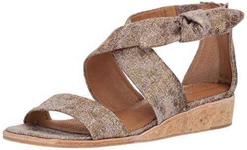 CC Corso Como Women's Rasque Wedge Sandal, Rose Metallic, 8 Medium US