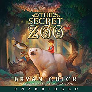 The Secret Zoo audiobook cover art