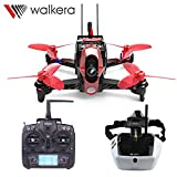 Walkera Rodeo 110 RC Racing Drone with DEVO 7 Remote Controller and FPV Goggle4 Glasses