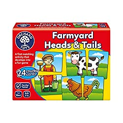 Farmyard Heads & Tails. Best Games for 2 Year Olds