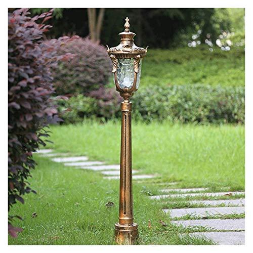 Luz de Poste Columna 117 cm Alto Poste de la Calle Rural Poste de la lámpara Antigua de América Luz Comunidad luz del jardín de fundición a presión de Aluminio Impermeable de la lámpara Post Victoria