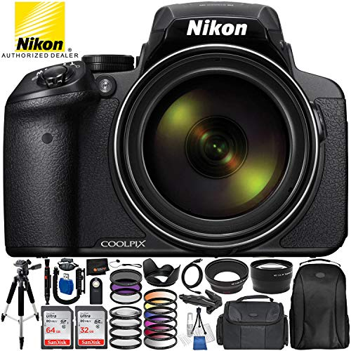 Nikon COOLPIX P900 Digital Camera with 83x Optical Zoom and Built-In...