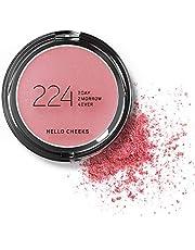 224 Cosmetics Blush Hello Cheeks : naturale, vegan & non testati sugli animali - feel good formule & senza parabeni e silicone - Ciliegia
