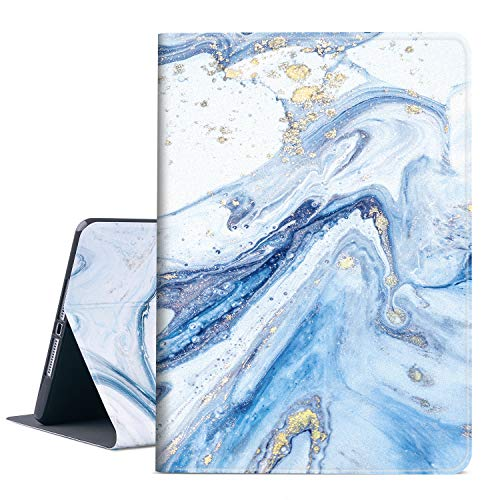 Vimorco New iPad 9.7 inch 2018/2017 Case, Premium Leather Case, Protective Hard Shell Cover for Apple iPad Air Air 2 ipad 6th Generation 5th Generation with Auto Wake/Sleep, Quicksand Marble