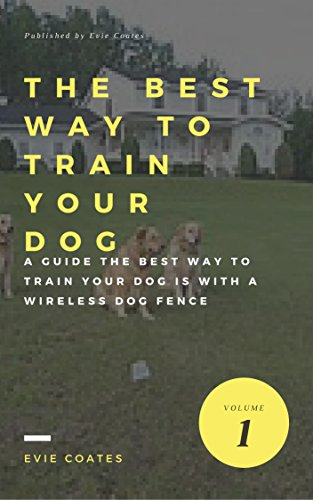 The Best Way to Train Your Dog is with a Wireless Dog Fence