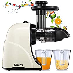 Masticating Juicer Machines, JuicePro Slow Cold Press Juicer