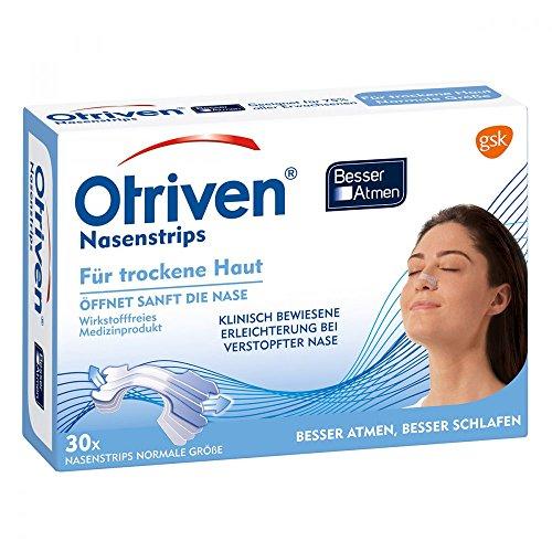 OTRIVEN Besser Atmen Nasenstrips normal transp. 30 St Pflaster