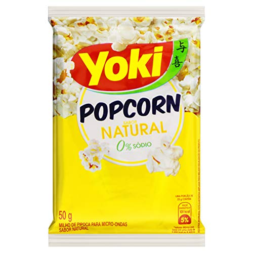 Popcorn Micro Natural Yoki 50g