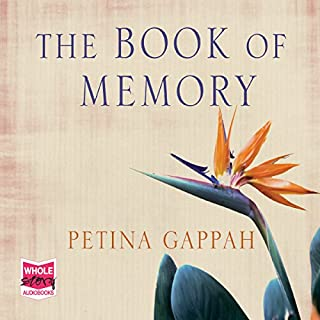 The Book of Memory audiobook cover art