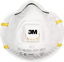 3M 8812 Ventilli Toz ve Sis Maskesi FFP1 (10 adet)
